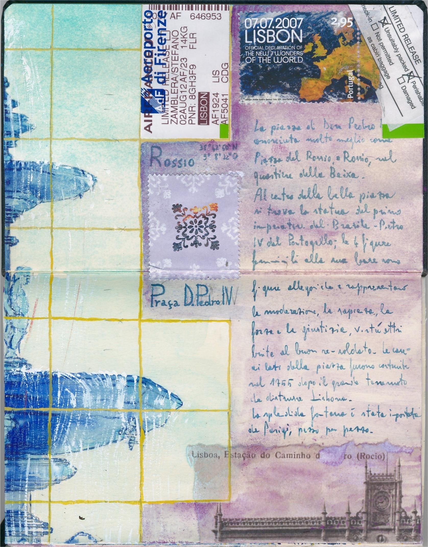 Lisboa em Azulejos - Carnet de Voyage on Japanese Moleskine